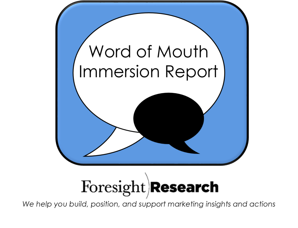 Word of Mouth Report
